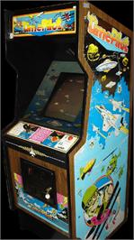Arcade Cabinet for Time Pilot.