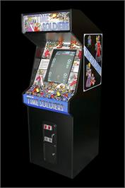 Arcade Cabinet for Time Soldiers.