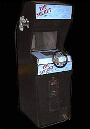 Arcade Cabinet for Top Secret.