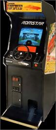Arcade Cabinet for Top Speed.