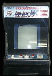 Arcade Cabinet for Tournament Arkanoid.