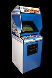 Arcade Cabinet for Track & Field.
