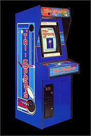 Arcade Cabinet for Tri-Sports.