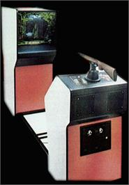 Arcade Cabinet for Triple Hunt.