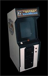 Arcade Cabinet for Tugboat.