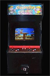 Arcade Cabinet for Tumble Pop.