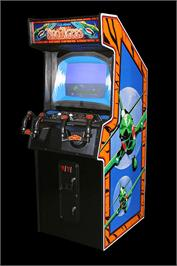 Arcade Cabinet for Two Tigers.