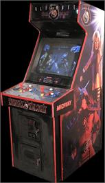 Arcade Cabinet for Ultimate Mortal Kombat 3.