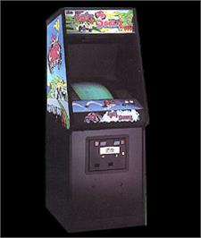Arcade Cabinet for Up'n Down.