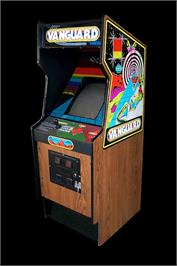 Arcade Cabinet for Vanguard.