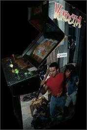 Arcade Cabinet for Vendetta.