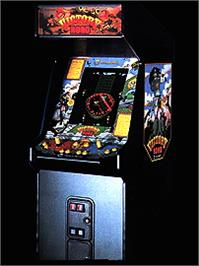 Arcade Cabinet for Victory Road.