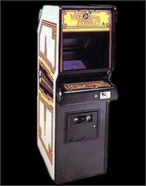 Arcade Cabinet for Video Pinball.