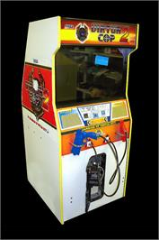 Arcade Cabinet for Virtua Cop 2.