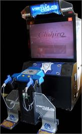 Arcade Cabinet for Virtua Cop 3.
