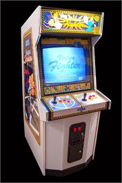 Arcade Cabinet for Virtua Fighter.