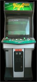 Arcade Cabinet for Virtua Striker 2 Ver. 2000.