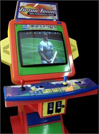 Arcade Cabinet for Virtua Tennis.