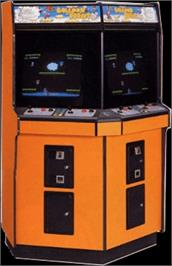 Arcade Cabinet for Vs. Balloon Fight.