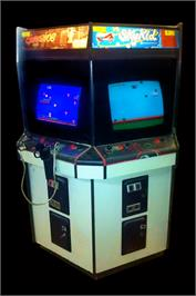 Arcade Cabinet for Vs. Gumshoe.