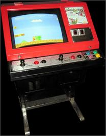 Arcade Cabinet for Vs. Super Mario Bros..
