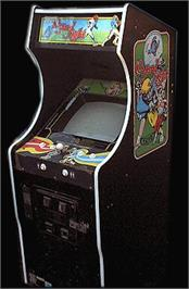 Arcade Cabinet for Vs 10-Yard Fight.