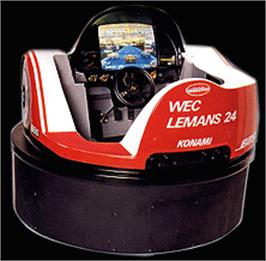 Arcade Cabinet for WEC Le Mans 24.