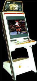 Arcade Cabinet for WWF Royal Rumble.