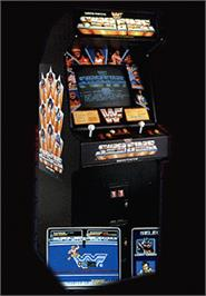 Arcade Cabinet for WWF Superstars.