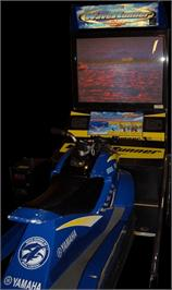Arcade Cabinet for Wave Runner.