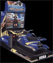 Arcade Cabinet for Wave Runner GP.