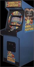 Arcade Cabinet for Wheel Of Fortune.