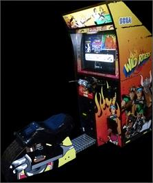 Arcade Cabinet for Wild Riders.