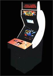 Arcade Cabinet for World Class Bowling.