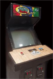 Arcade Cabinet for World Class Bowling Deluxe.