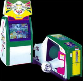 Arcade Cabinet for World PK Soccer V2.
