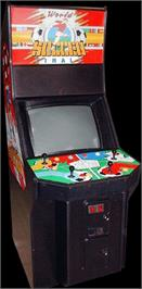 Arcade Cabinet for World Soccer Finals.