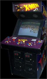 High Score Screen · Arcade Cabinet for X-Men. & X-Men - Arcade - Games Database
