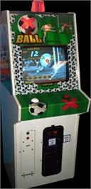 Arcade Cabinet for X the Ball.