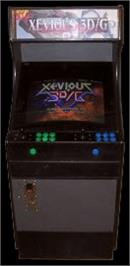 Arcade Cabinet for Xevious 3D/G.