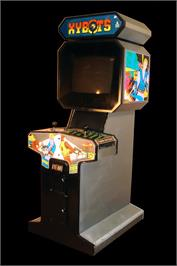 Arcade Cabinet for Xybots.