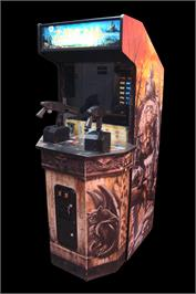 Arcade Cabinet for Zombie Raid.