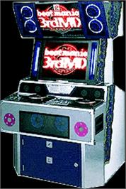 Arcade Cabinet for beatmania 3rd MIX.