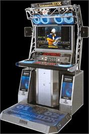 Arcade Cabinet for beatmania IIDX 4th style.