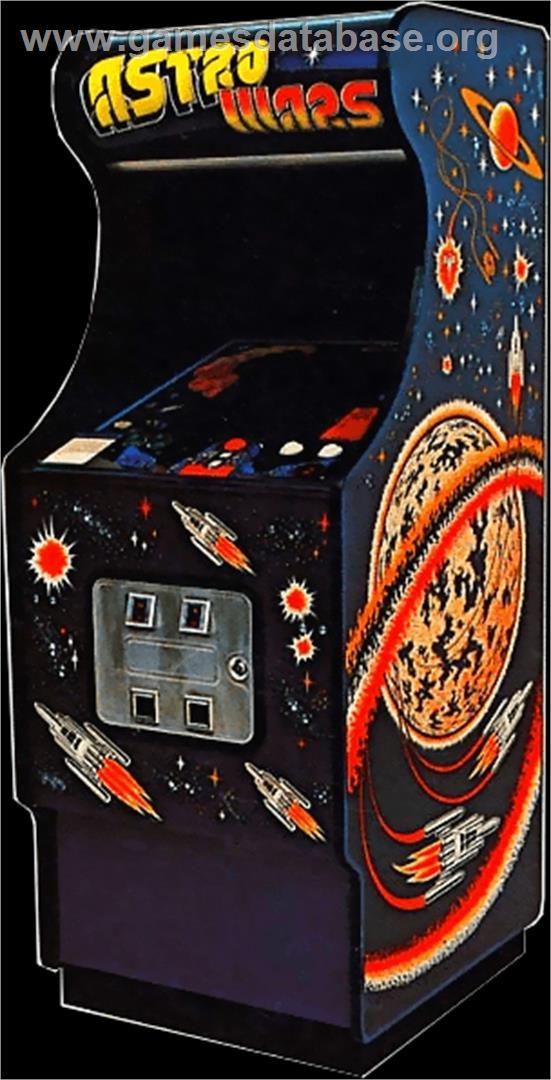 Astro Wars Arcade Games Database
