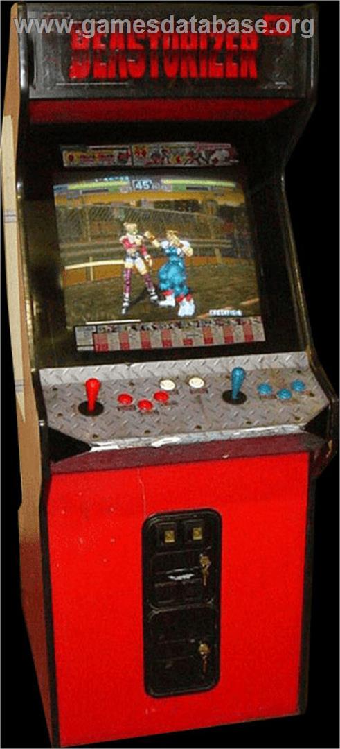 Bloody Roar Arcade Games Database