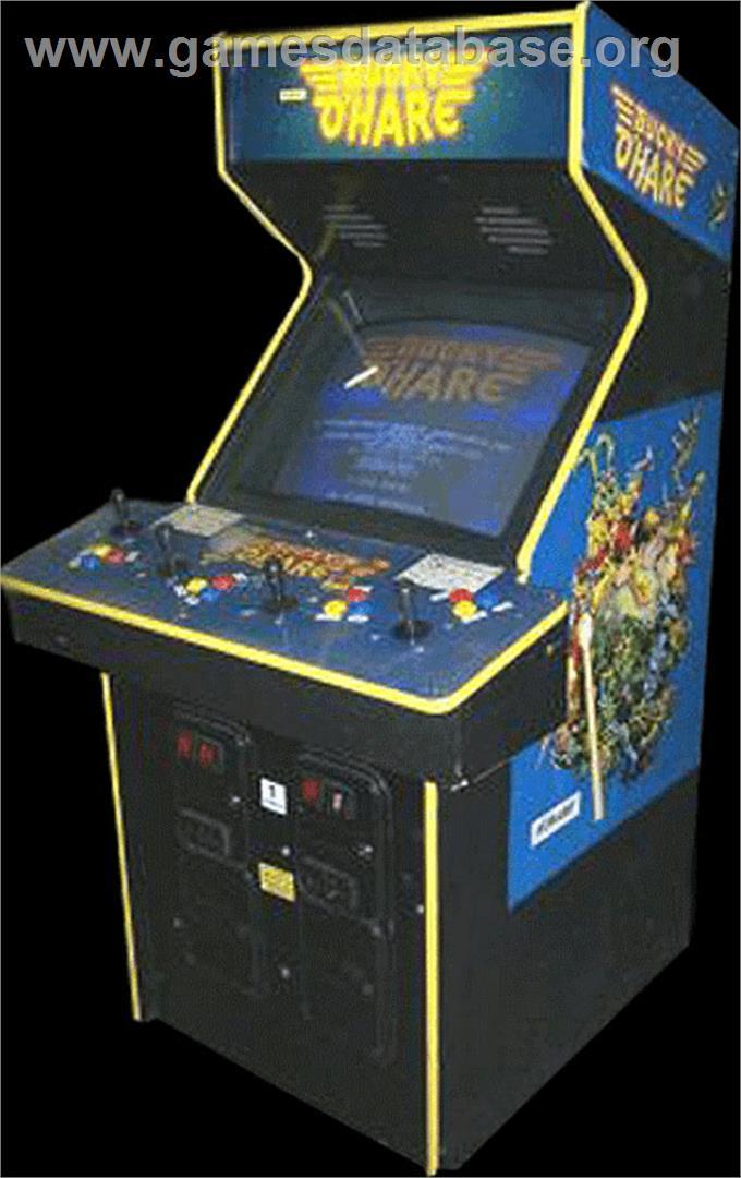 bucky ohare arcade games database