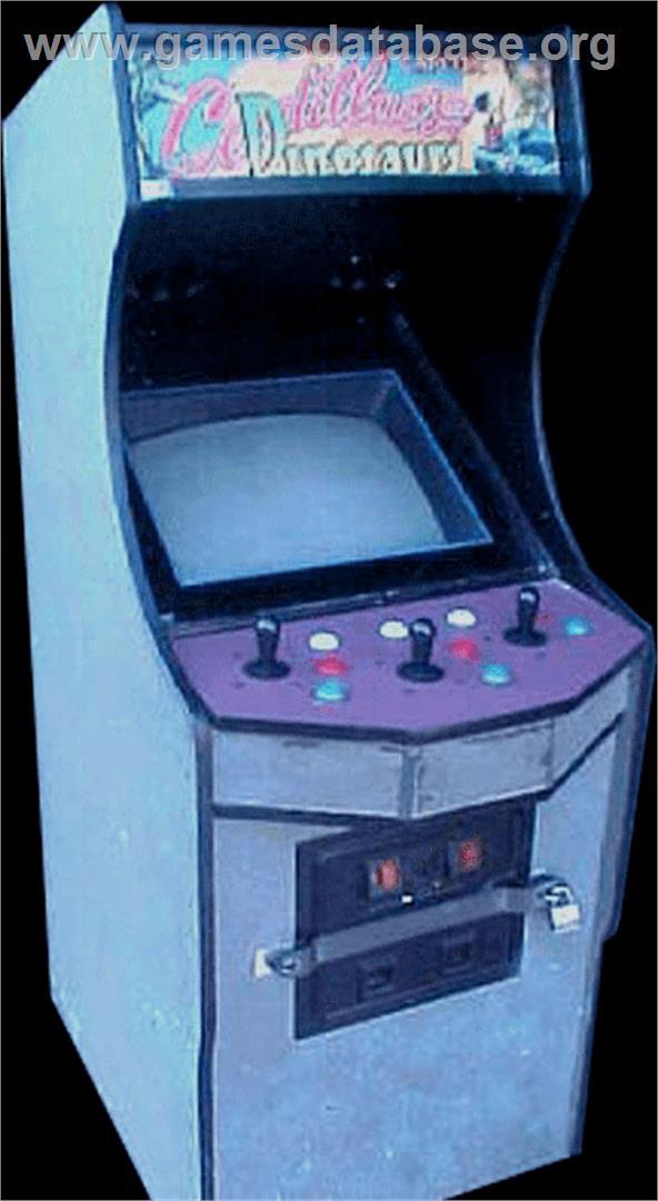 Cadillacs And Dinosaurs Arcade Games Database