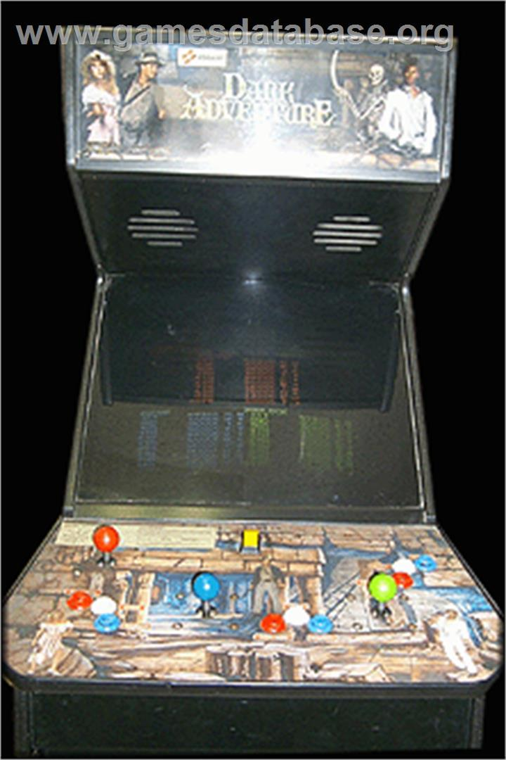 Dark Adventure - Arcade - Artwork - Cabinet