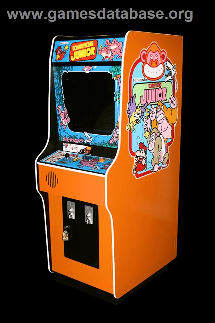 Donkey Kong Junior - Arcade - Artwork - Cabinet